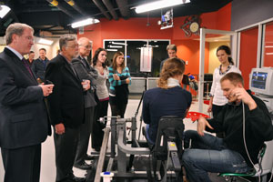 Biomechanics lab opening