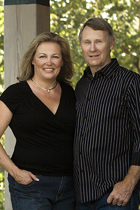 Suzanne and Dave Peterson
